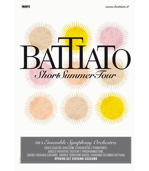 Battiato, Short Summer Tour 2015