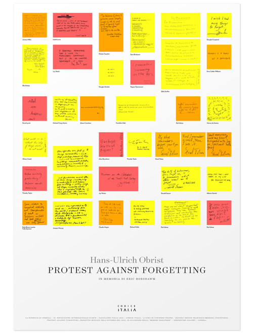 Protest Against Forgetting
