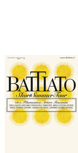 Battiato - Short Summer Tour
